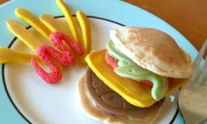 Bánh pancake yêu không tả nổi