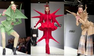 Phát sốt với thời trang Nga