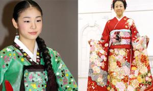 Hanbok và Kimono, sao nào diện đẹp hơn?