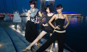 Next top model 'du hý' Singapore