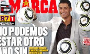 Cristiano Ronaldo trải lòng đầu năm mới