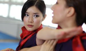 Tiếp viên hàng không học võ Vịnh Xuân quyền