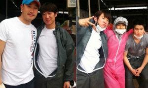 Fan suýt ngất trước vẻ đẹp của quản lí Lee Hyori
