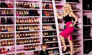 Chiêm ngưỡng những tủ giày 'khủng' nhất Hollywood