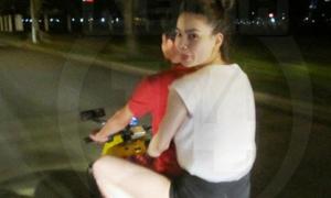 Hồ Ngọc Hà giải thích chuyện chạy xe máy quên mũ bảo hiểm