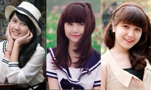 Những nữ sinh THPT có gương mặt thiên thần