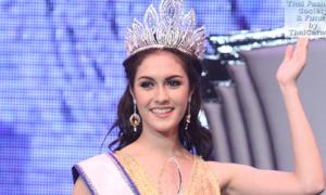 Hoa hậu Thái Lan trẻ măng xinh như búp bê