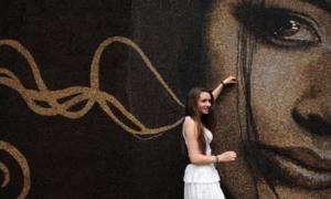 Tường cà phê lớn nhất hành tinh