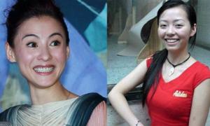 Sao nữ Hoa ngữ lộ 'mặt thật' kém xinh