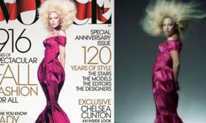 Lady Gaga thon mảnh kỳ dị vì photoshop quá đà