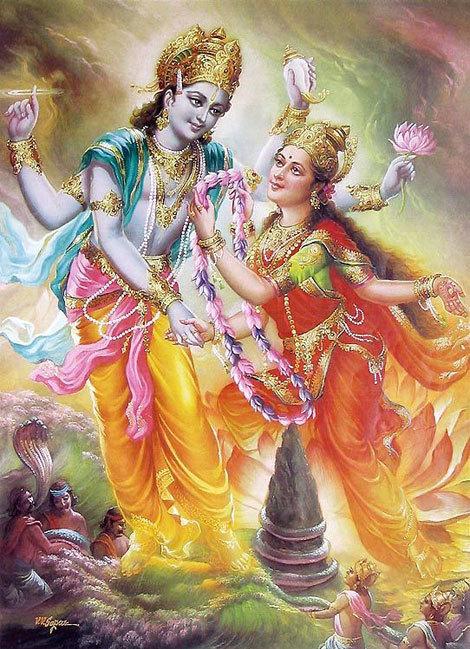 5-hindu-mythology--lakshmi-and-vishnu-13