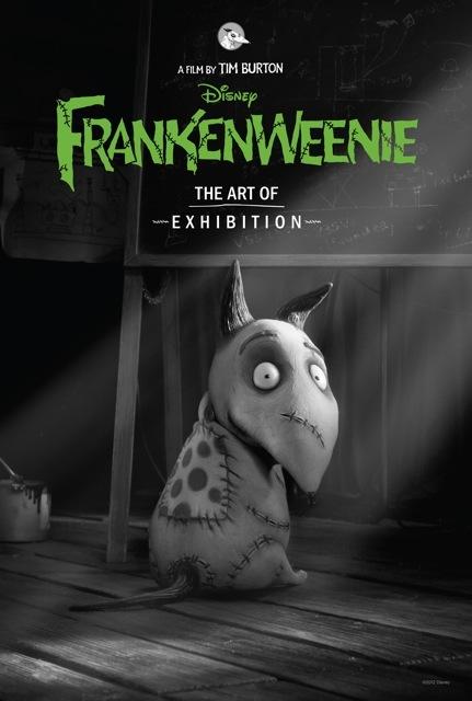 the-art-of-frankenweenie-exhibition-post