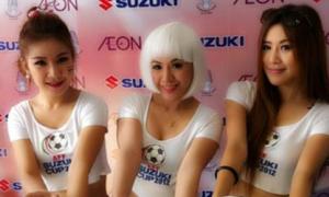 Dàn hotgirl tại AFF Cup 2012
