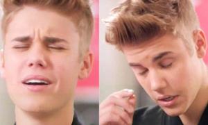 Bản tin: Justin Bieber dụi mắt cũng bán được nước hoa