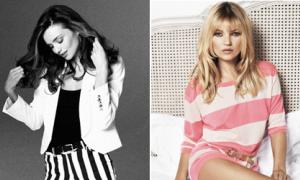 Miranda Kerr thế chân Kate Moss làm đại diện Mango