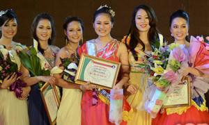 ĐH Kinh doanh Công nghệ tổ chức thi Miss hoành tráng