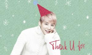 Xia Jun Su đãi fan ca khúc Giáng Sinh ngọt ngào