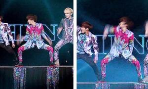 Tae Min (SHINee) nhảy hăng đến rách quần
