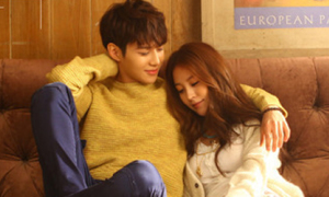 BoA ngọt ngào tựa vào lòng Tae Min SHINee