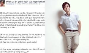 '24h bi kịch của hotgirl' phần hai châm biếm WeChat