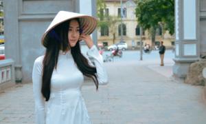 Hà Lade tinh khôi với hình ảnh 'em gái Hà Nội'