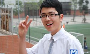 Cậu em điển trai, học giỏi của Bùi Anh Tuấn