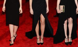 4 kiểu giày đụng hàng nhiều nhất 'Oscar thời trang' 2013