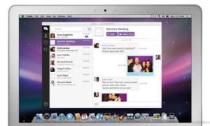 Máy tính đã có thể nhắn tin Viber