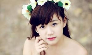 Nữ sinh Hà Nội trong veo tuổi 13