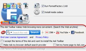 'Bò né' ứng dụng quảng cáo khi cài phần mềm Windows