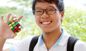 Cao thủ rubik giành học bổng top 30 đại học Mỹ