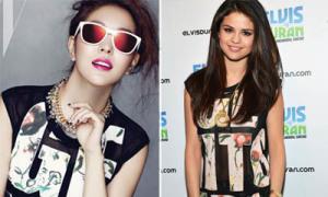 Idol Hàn liên tục đụng đồ xì ta Hollywood