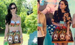 Phạm Băng Băng đụng váy mặt người với Katy Perry