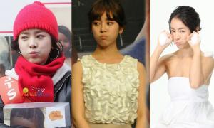 Chu môi, phồng má siêu đáng yêu như Han Ji Min