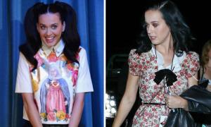 Muôn kiểu diện đồ hồi teen của Katy Perry