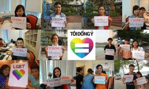 Sôi sục chiến dịch 'I do' vì hôn nhân đồng tính