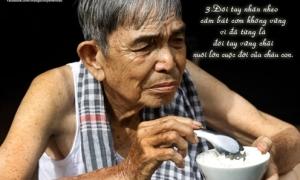 Bộ ảnh 'Ông bà ơi' khiến teen nghẹn lòng