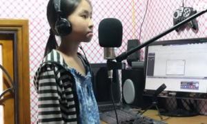 Cô bé 10 tuổi hát hit Phương Mỹ Chi ngọt ngào