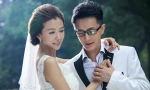 Han Geng khoe ảnh cưới với bạn diễn xinh đẹp