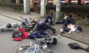 Teen Hai Bà Trưng phân trần ảnh tai nạn giao thông