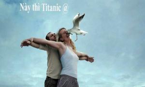 Ảnh hài xôn xao Facebook 2/1: Vỡ mộng Titanic