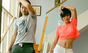 Clip: 6 Next Top tưng bừng luyện nhảy sexy dance