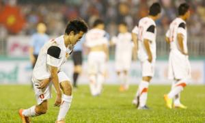 Cầu thủ U19 Việt Nam kiệt sức sau trận thua