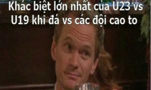 Ảnh chế U19 Việt Nam ngập tràn Facebook 8/1