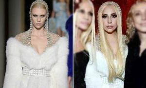 Lady Gaga - sao bự khéo xin xỏ đồ hiệu
