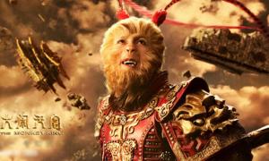 Tôn Ngộ Không hỗn chiến thiên đình trong 'The Monkey King'