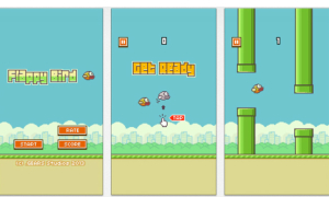 Teen 'điên đầu' với chim bay Flappy Bird
