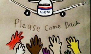 Lời cầu nguyện xúc động cho nạn nhân máy bay mất tích