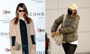 Những mỹ nhân Hàn lơ là với style sân bay