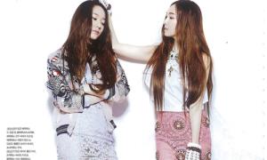 Chị em Krystal, Jessica từng ghét nhau vì tranh giành đồ ăn